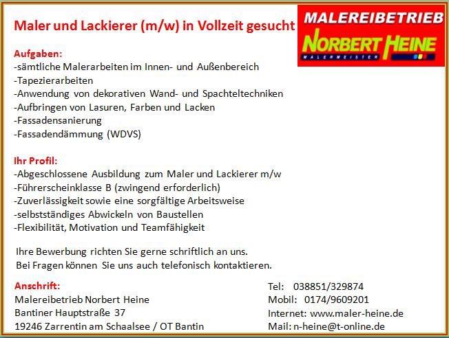 Maler Ahrensburg maler heine